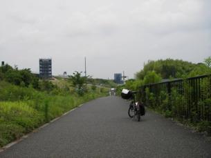 左写真、京田辺本線料金所の ... : 大阪市 自転車道 : 自転車道